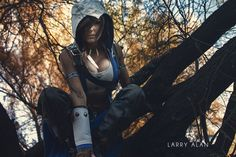 Female Assassin From Assassin's Creed 3 Cosplay