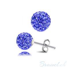 Shamballa Ohrringe blau - http://bramel.ch/accessoires-shop/ohrringe/shamballa-ohrringe-blau/ http://bramel.ch/wp-content/uploads/2014/06/Shamballa-Ohrringe-dunkelblau.jpg
