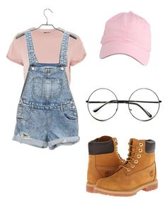 """""""Namjoon silver spoon outfit 7v7 ♥️"""" by andrea9503 on Polyvore featuring moda, Topshop, Timberland y Retrò"""