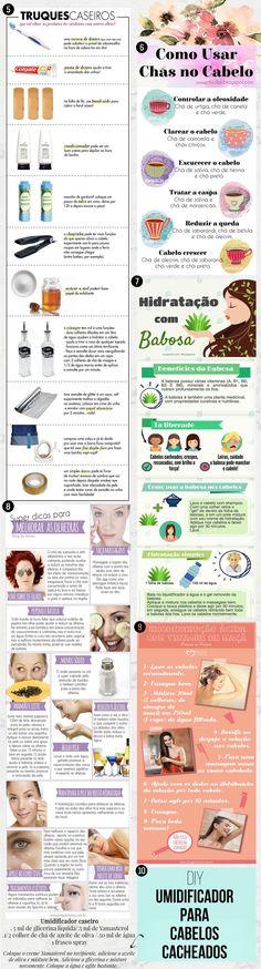 receitas caseiras beleza cabelo Manicure Y Pedicure, Body Hacks, Peeling, Rapunzel, Face And Body, Make Up, Perfume, Day, Beauty