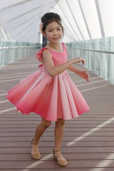 All the candies in the world couldn't beat the sweet Sonora dress & skirt! Kids Dress Wear, Little Girl Outfits, Little Girl Dresses, Kids Outfits, Girls Dresses, Baby Outfits, Short Dresses, Baby Dress Design, Baby Girl Dress Patterns