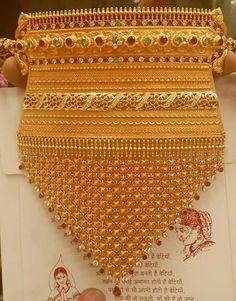 varun d jani jewellery designs Rajput Jewellery, Antic Jewellery, Antique Jewellery Designs, India Jewelry, Gold Jewellery, Marriage Jewellery, Gold Jhumka Earrings, Indian Wedding Jewelry, White Gold Jewelry