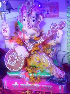 Ganpati at my home