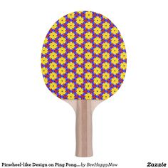 Pinwheel-like Design on Ping Pong Paddle Ping Pong Table Tennis, Ping Pong Paddles, Pinwheels, Design, Design Comics, Wind Spinners, Weather Vanes