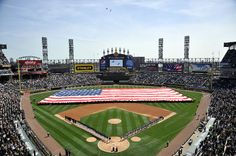 US Cellular Field - Home of the Chicago White Sox.
