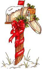 MAILBOXEN, kerstanimaties en kerstplaatjes bij Kerst bij Annemiek