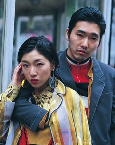A festival fashion shoot by Johnny Dufort and Lotta Volkova - i-D Japanese Men, Japanese Models, 20th Century Fashion, Fashion Couple, Figure Model, Dancing In The Rain, Guys And Girls, Fashion Photo, Portrait Photography