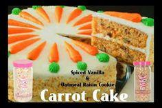 Pink zebra carrot cake recipe