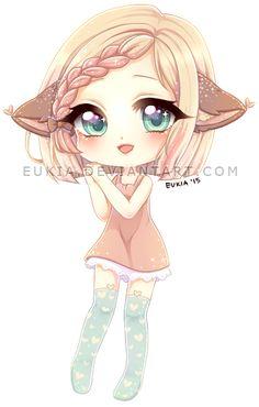 Little Chibi-Doodle ´w` Final Fantasy XIII: Serah Farron Old Chibi xD ^^