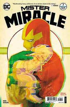 March 2018 Comic Covers Mister Miracle 7 - Mitch Gerads (DC) Saga 50 - Fiona Staples (Image) Moon Girl 29 - Natacha Bustos (Marvel) New Super-Man and the Justice League of China 21 - Bernard Chang. Free Dc Comics, Dc Comics Art, Comic Book Artists, Comic Books Art, Comic Art, Superman, Batman, Mitch Gerads, Female Furies