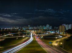 Sao Jose dos Campos Nightscape by Ricardo Lima, via 500px