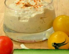 Recipe - Sauce for raw vegetables Raw Vegetables, Mayonnaise, Chutney, Cooking Time, Feta, Appetizer Recipes, Brunch, Food And Drink, Favorite Recipes