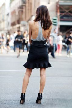 nice top from the back.......looks like it would be very cool in the heat....  HotWomensClothes.com