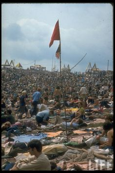 Woodstock, August 1969 -  I wished I could have been there! It will never happen again!!