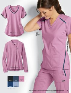 Get the latest scrubs and uniform catalog by Scrubs and Beyond. Healthcare Uniforms, Nursing Uniforms, Medical Uniforms, Nursing Clothes, Dental Scrubs, Medical Scrubs, Scrubs Outfit, Scrubs Uniform, Cute Scrubs