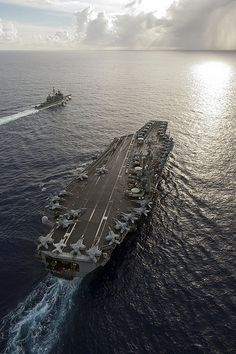 USS George Washington, HOOYAH!