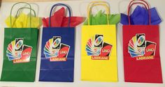 UNO party bags 12 by ScozShop on Etsy