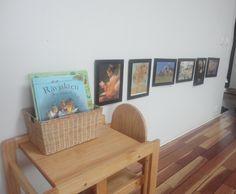 Little Red Farm: Toddler art appreciation