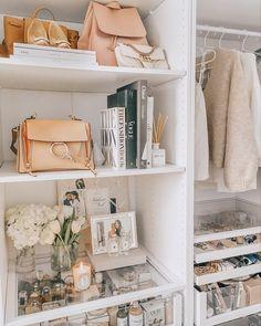 Chloe and Gucci bags - Pax Ikea Organiser Son Dressing, Ikea Pax Wardrobe, Closet Tour, Dream Closets, Closet Designs, Closet Space, Closet Organization, Kitchen Organization, Home Interior