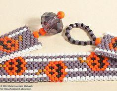 Free Halloween Beadwork Jewelry Patterns and Tutorials