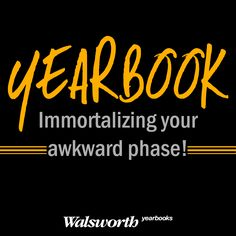 Happy National Yearbook Week! #yearbook #walsworth #nyw2014