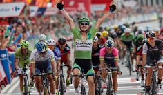 John Degenkolb clocked up his fourth stage victory of this year's Vuelta a España at the end of stage 17 on Wednesday, blasting into A Coruña a bike length ahead of Michael Matthews (Orica-GreenEdge) and Fabian Cancellara (Trek Factory Racing).