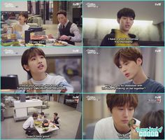 ha won bait kang cousin their favourite dishes - Cinderella and Four Knights…