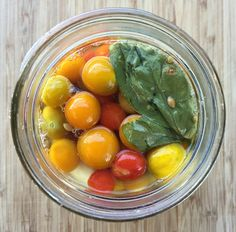 When you have a lot of cherry tomatoes in your garden, this recipe for fermented cherry tomato bombs is the best way to preserve them.
