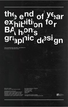 Southampton Solent Exhibition Poster by Mia Marcinko, via Behance