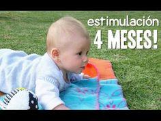 Actividades Bebé 4 meses - Estimulación Temprana - YouTube