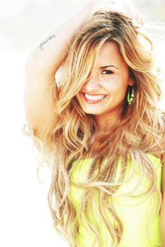 demi lovato. This photo is just full of energy, fun, and good vibes! :)
