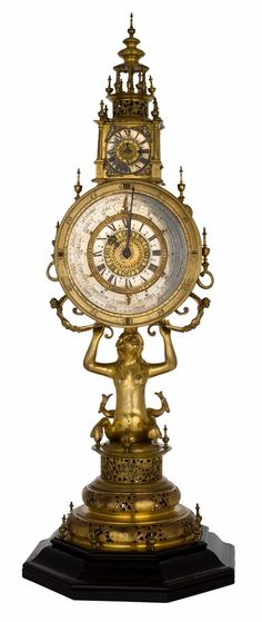 Astronomical monstrance clock of Marcin Cieński, the Hussar banner leader by Lorentz Wolbrecht from Toruń, 1662-1680, Zamek Królewski na Wawelu