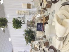 Cream and Sugar | Tea Party Table | LSC Ladies Tea Party 2013  | Hostesses: Heather Downing and Shana Anderson