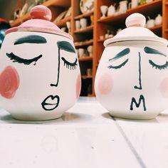 sugar bowls by Michelle Morrison