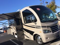 """Thor Axis. 24 feet of fun. Great design and just enough of everything you need in an RV. I mean """"RUV""""."""