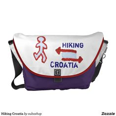 Croatia, Kroatie, gadgets, produkten, souvenirs, I love Croatia, bag , schoolbag, hiking, Hiking Croatia Schooltassen