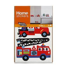 Lit CAMION POMPIER Aménage La Chambre De Votre Enfant De Façon - Lit gigogne camion de pompier