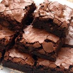 """The BEST"" from-scratch brownie recipe EVER.   I haven't bought a mix in years."