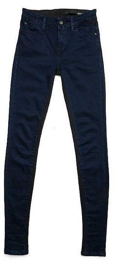 Jeans Egeina    Bequem und stylish: die skinny Jeans von Replay! Ein absolutes Must Have - die Hose von Replay!    Außenmaterial: 50% Modal, 42% Baumwolle, 6% Polyester, 2% Elasthan...
