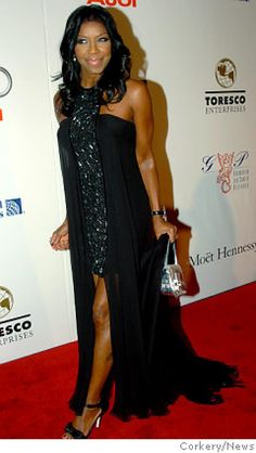 The lovely Natalie Cole was truly 'Unforgettable' at Monday's 2007 Angel Ball at the Marriott Marquis.