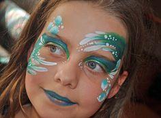 face painting ideas for kids Mermaid www.schminkenisleuk.nl