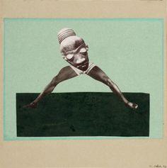 """Hanna Hoech, """"Ohne Titel (Aus einem ethnographischen Museum)"""", 1929, Museum für Kunst und Gewerbe Hamburg © VG BILD-KUNST Bonn, 2016"""
