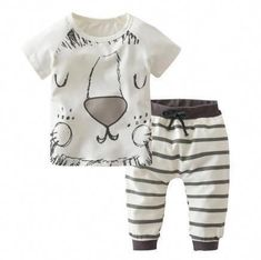 2018 Summer Style Baby Boy Clothing Sets Cotton little Monsters and lions With Short sleeves 2 Pcs Newborn Toddler Baby Clothes Baby Boy Clothes Hipster, Baby Boy Clothing Sets, Kids Clothing, Hipster Outfits, Clothing Stores, Baby Outfits, Toddler Outfits, Baby Boys, Toddler Boys