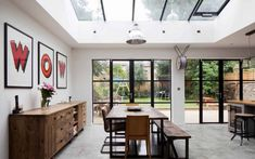 the best of Design for Me's house extension architects. Get inspiration & cost estimates for your single storey extension. 1930s House Extension, House Extension Design, Extension Designs, Extension Ideas, Extension Google, Glass Extension, Rear Extension, Crittall Extension, Steel Frame Doors