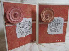Handmade Card  Handmade Christmas Card  Hand by PrettyByrdDesigns, $3.50