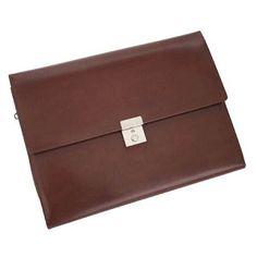Royce Leather Aristo Padfolio File Organizer | Personalized