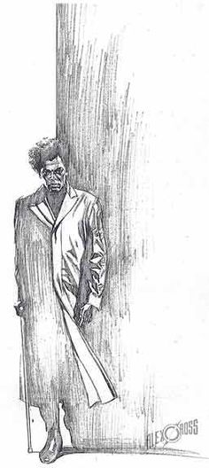 Unbreakable by Alex Ross - I loved this movie. Mr. Glass became sooo creepy.