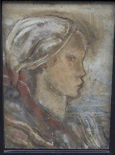Henri Héraut (1894-1980), oil on board, 24x33cm, circa 1950