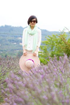 Meisha.Style - lavender garden