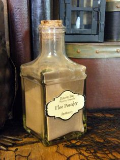 Floo Powder Apothecary Harry Potter Inspired by dynamicalley, $9.00